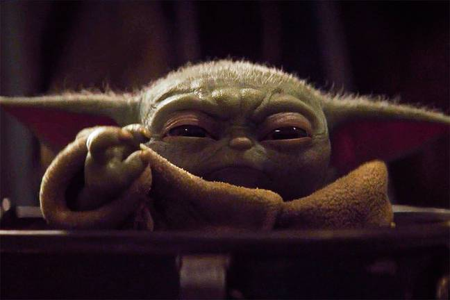 Baby Yoda will return in October. Credit: Disney