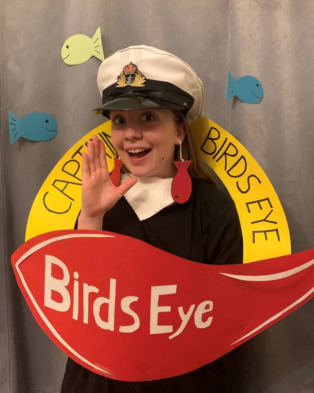 Charlotte's entry photo. Credit: Birds Eye