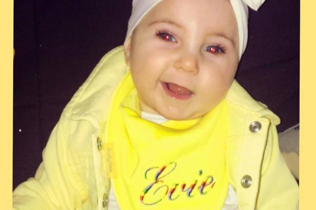 Evie needs treatment in the USA. Credit: GoFundMe