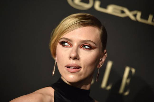 Scarlett Johansson topped the charts for her eyes. Credit: PA