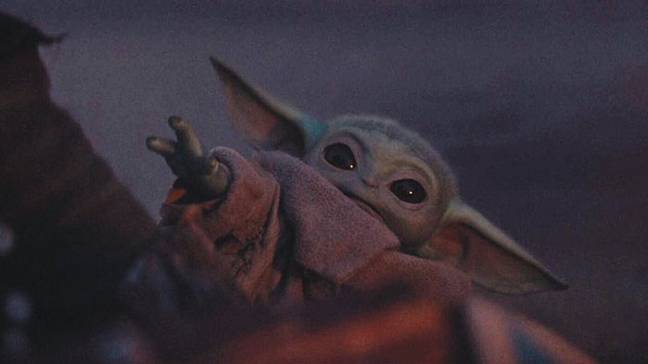 The character known as 'Baby Yoda'. Credit: Disney/Lucasfilm