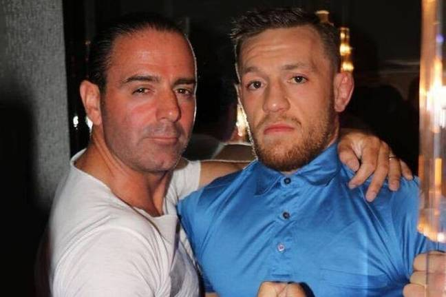 Conor McGregor with Ollie Grimes