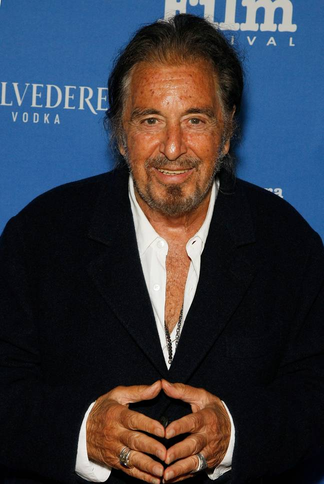 Al Pacino says he has taken on roles in bad films to try and make them better. Credit: PA