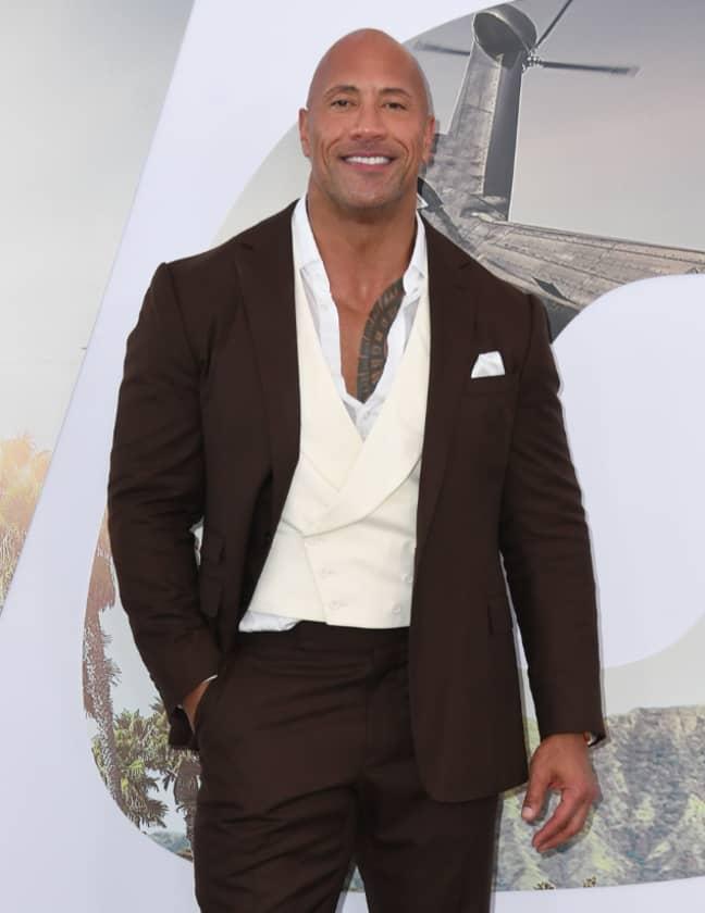 Dwayne 'The Rock' Johnson. Credit: PA