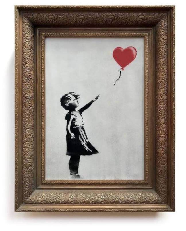 Is this an Art Attack? Credit: Banksy/Instagram