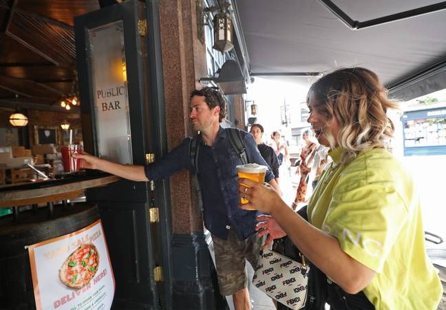 Pubs are set to reopen outdoor spaces and takeaway options next month. Credit: PA