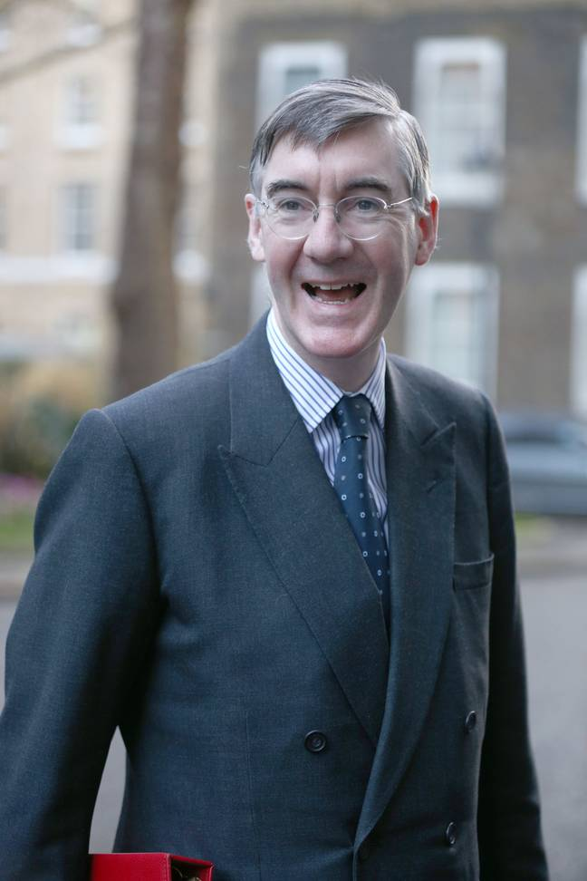 Jacob Rees-Mogg blasted UNICEF over the 'political stunt'. Credit: PA