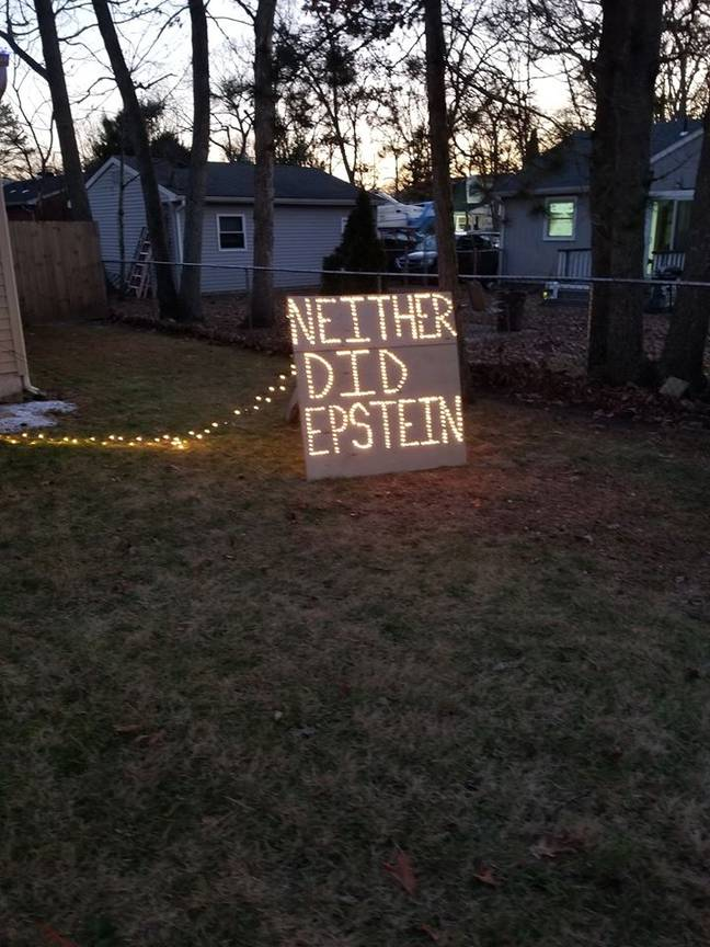 Kevin suggested Jeffrey Epstein didn't kill himself. Credit: Facebook/Kevin Gibson Jr.