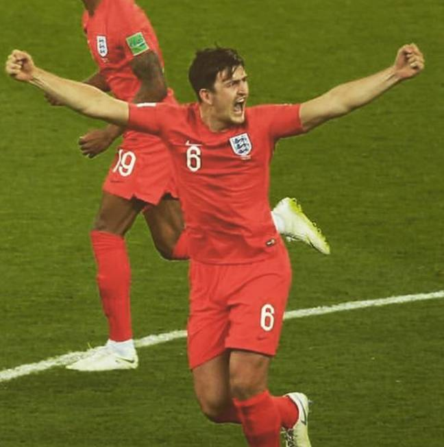 Maguire was instrumental to England's success at last year's World Cup. Credit: Instagram/Harry Maguire