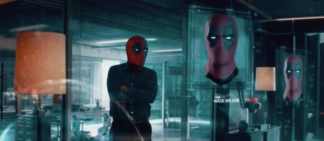 Someone edited the Avengers trailer so Deadpool is playing every character. Credit: Mightyraccoon/YouTube