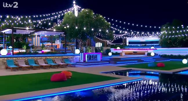 The Love Island villa is located in Majorca. Credit: ITV