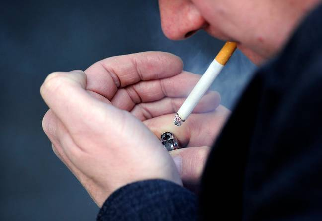 Cigarettes could be the cause of your 'shrinkage'. Credit: PA