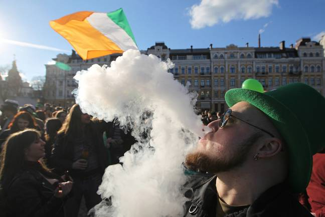 St Patrick's Day was celebrated at parades across the world. Credit: PA