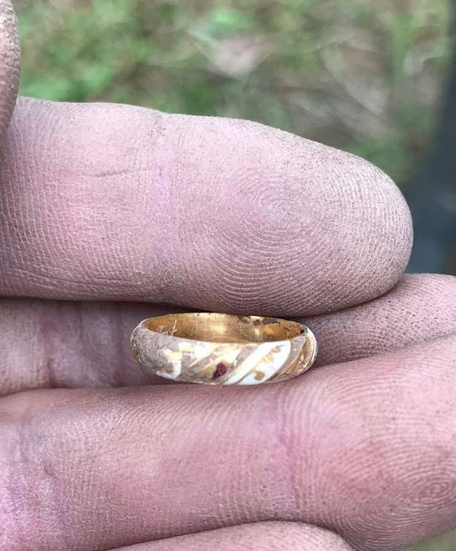 Sue Kilvert claims the ring may have belonged to William Shakespeare and we'll take her word for it. Credit: BNPS
