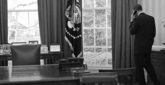 Barack Obama in the Oval Office. Credit: YouTube/Obama Foundation