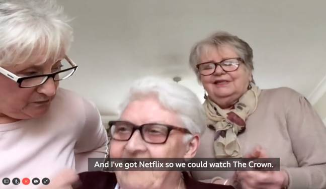 The ladies have been friends for more than 40 years. Credit: BBC Breakfast