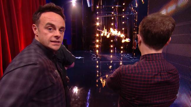 Ant was worried for Kevin's safety. Credit: ITV