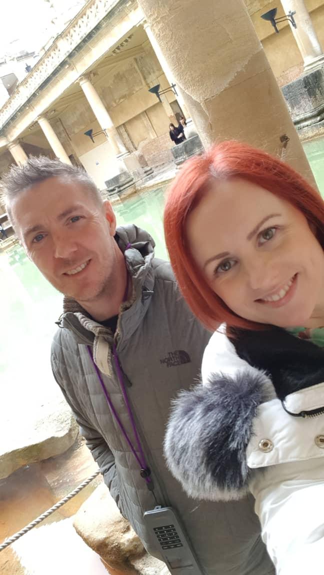 Greg and Angela. Credit: Kennedy News and Media