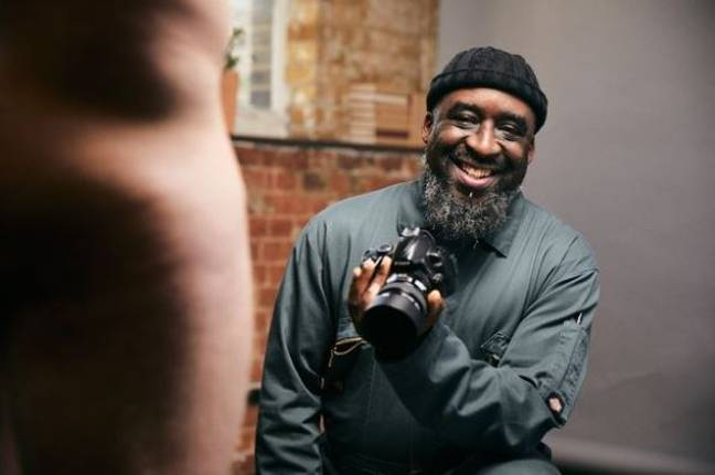 Ajamu wants to break the taboo surrounding the male experience. Credit: Channel 4