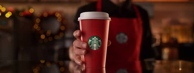 Festive hot drinks contains more sugar than we realise. Credit: Starbucks