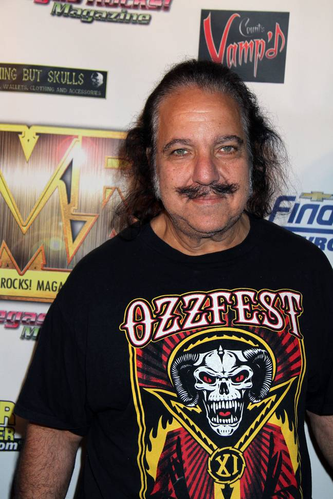 Ron Jeremy is credited in at least 2,000 adult films. Credit: PA