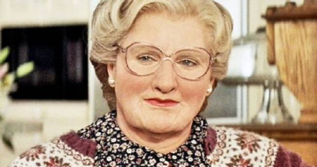 The original Mrs. Doubtfire was played by the late Robin Williams. Credit: 20th Century Fox