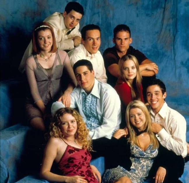 The cast 20 years ago. Credit: Universal Pictures
