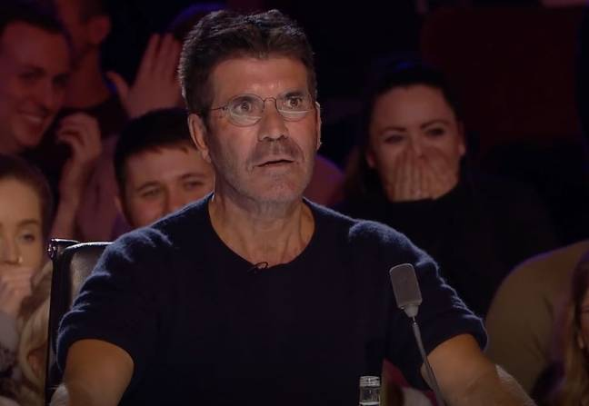 Simon was shaken. Credit: ITV