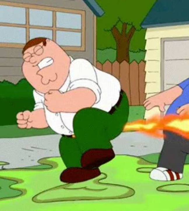 Peter Griffin knows when to let one go. Credit: Fox