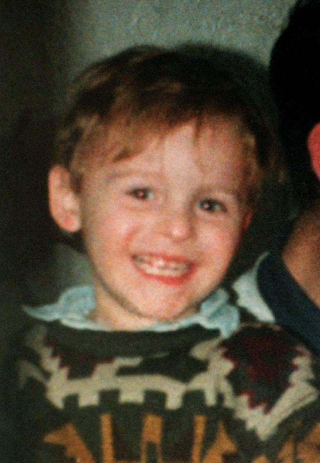 James Bulger. Credit: PA