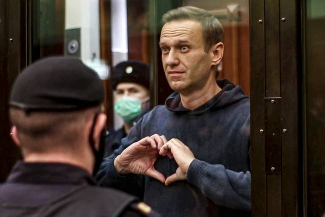 Alexei Navalny was sentenced to over three years in prison. Credit: PA