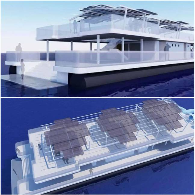 The underwater hotel is expected to be open by April 2020. Credit: Tourism and Events Queensland