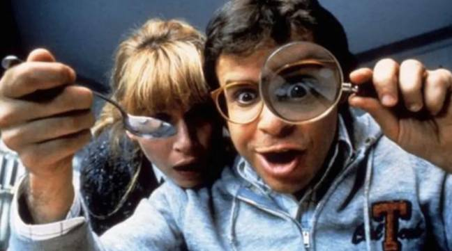 Moranis in one or other of the Honey, I Shrunk [something] films. Credit: Disney