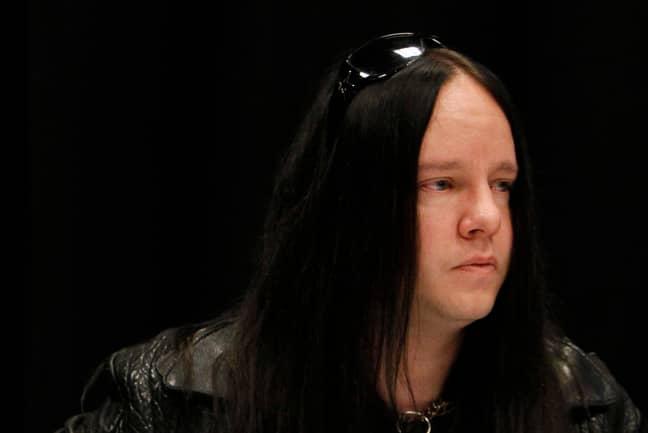 Joey Jordison. Credit: PA