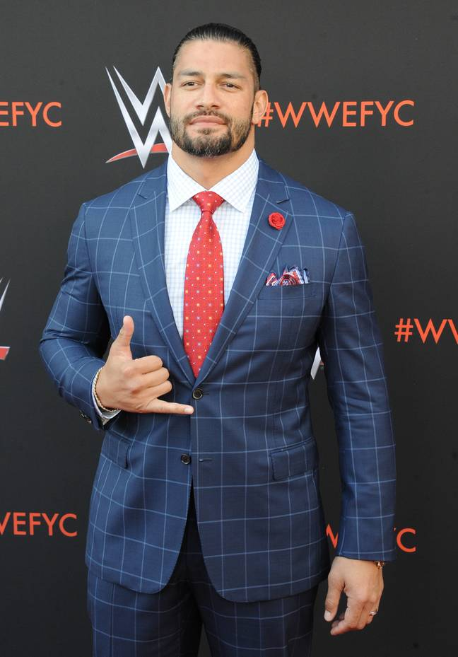 Roman Reigns at a WWE event. Credit: PA
