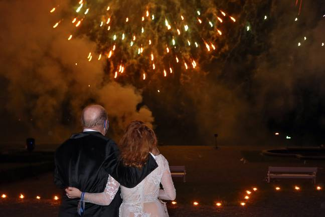 It seems we're divided on private fireworks displays - as well as just about everything else. Credit: PA