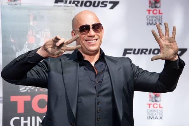 Vin Diesel. Credit: PA