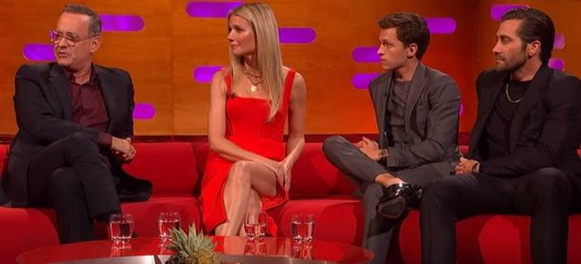Tom Hanks explained the art of repetition exercises. Credit: BBC/The Graham Norton Show