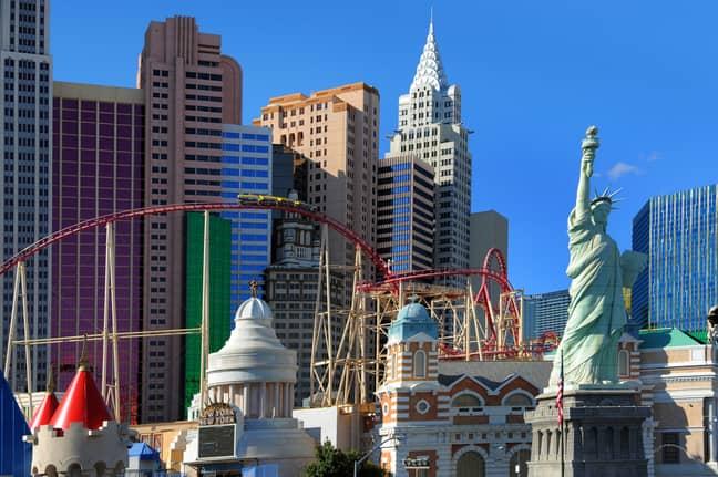 Las Vegas is on the list. Credit: PA