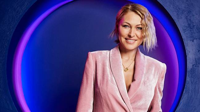 Emma Willis hosted The Circle. Credit: Channel 4