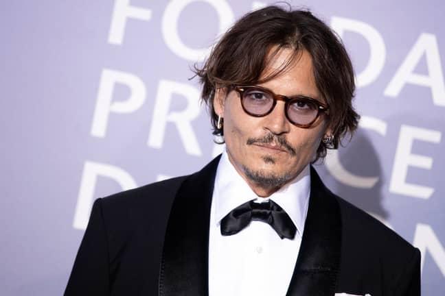 Johnny Depp in 2020. Credit: PA