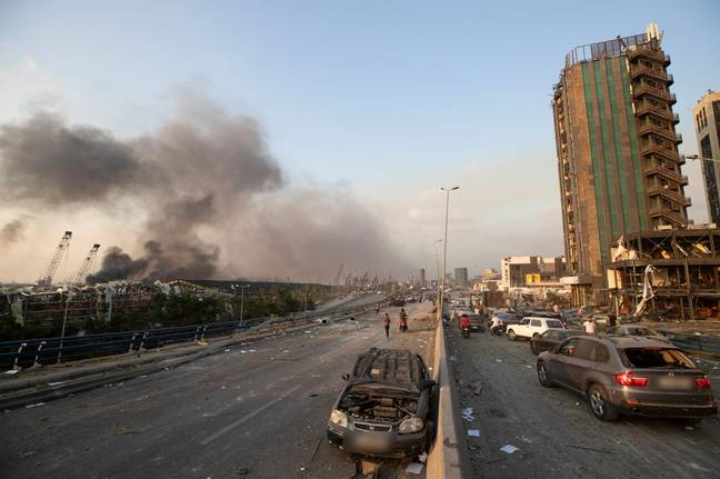 Many people were reportedly injured in the blast. Credit: PA
