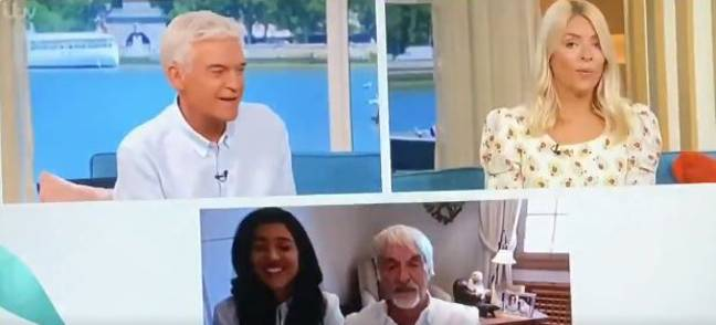 Phil and Holly didn't know what to do. Credit: ITV/This Morning