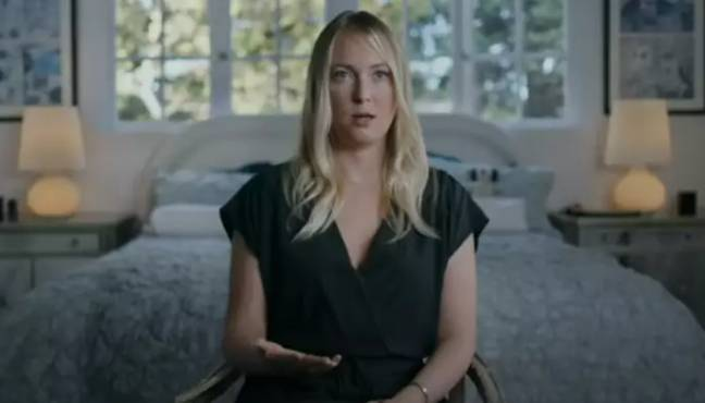 India Oxenberg shares her story in the series. Credit: Starz