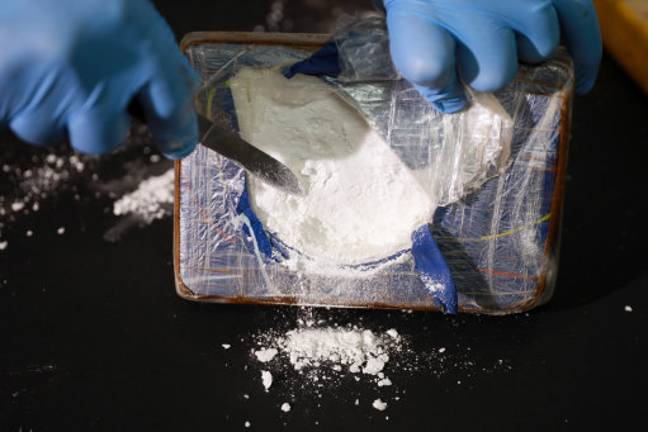 The amount of cocaine taken is sustained during the week. Credit: PA