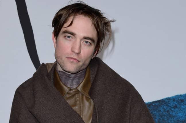 Pattinson attending Paris Fashion Week in January. Credit: PA