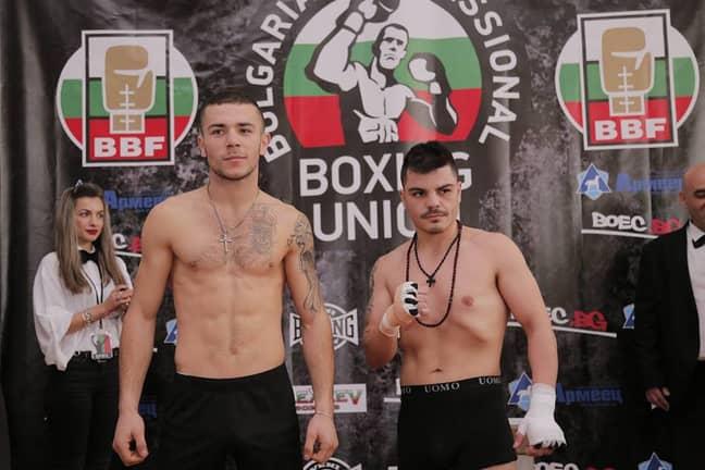 Boris Stanchov (left). Credit: BOEC.BG