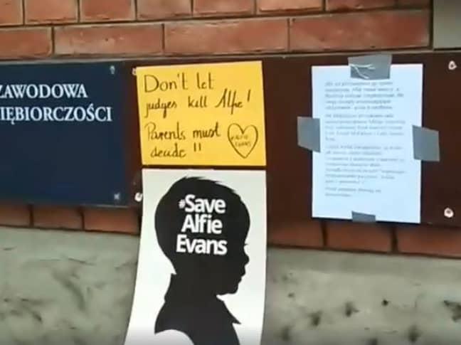 Vigil in Poland. Credit: Facebook/Polska