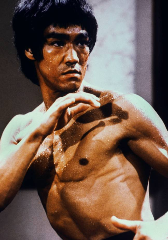 Bruce Lee in 1973. Credit: PA