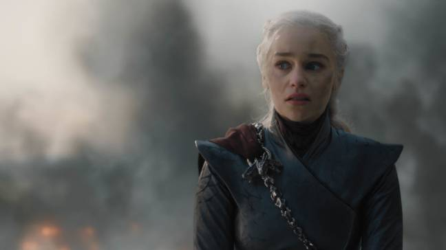 Daenerys having a bit of a moment in episode five. Credit: HBO